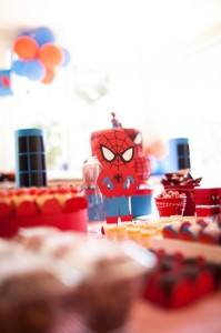 Spiderman Party with Lots of Awesome Ideas via Kara's Party Ideas | KarasPartyIdeas.com #SpidermanParty #SuperheroParty #Party #Ideas #Supplies (13)