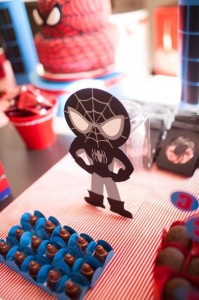Spiderman Party with Lots of Awesome Ideas via Kara's Party Ideas | KarasPartyIdeas.com #SpidermanParty #SuperheroParty #Party #Ideas #Supplies (9)