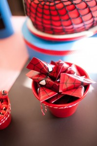 Spiderman Party with Lots of Awesome Ideas via Kara's Party Ideas | KarasPartyIdeas.com #SpidermanParty #SuperheroParty #Party #Ideas #Supplies (8)
