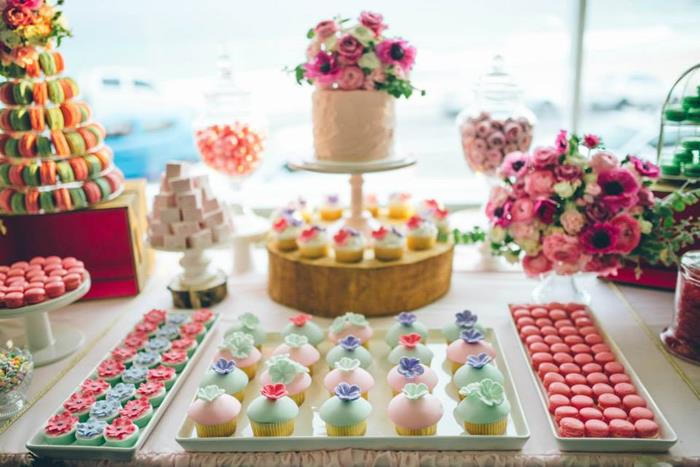 Kara 39 S Party Ideas Sweet As Spring Dessert Table With Lots