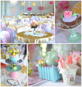 Princess Tea Party with SUCH CUTE Ideas via Kara's Party Ideas KarasPartyIdeas.com #GardenParty #TeaParty #GirlyParty #PartyIdeas #Supplies (1)
