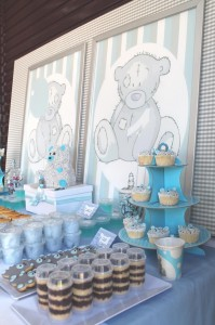 Teddy Bear Tea Party with So Many Really Cute Ideas via Kara's Party Ideas | KarasPartyIdeas.com #TeddyBearBabyShower #TeddyBearParty #PartyIdeas #Supplies (13)