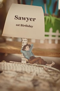 Adventures of Tom Sawyer 1st Birthday Party with Lots of Really Cute Ideas via Kara's Party Ideas | KarasPartyIdeas.com #TomSawyerParty #TomAndHuck #HuckFinnParty #PartyIdeas #Supplies (6)