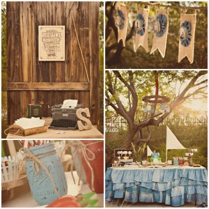 Adventures of Tom Sawyer 1st Birthday Party with Lots of Really Cute Ideas via Kara's Party Ideas | KarasPartyIdeas.com #TomSawyerParty #TomAndHuck #HuckFinnParty #PartyIdeas #Supplies (1)
