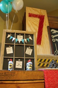 Tool Themed Birthday Party with So Many Great Ideas via Kara's Party Ideas | KarasPart yIdeas.com #ToolManParty #BuildingParty #Party #Ideas #Supplies (14)