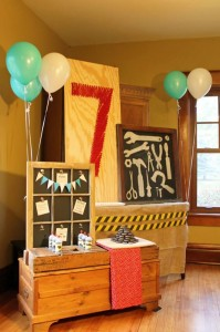 Tool Themed Birthday Party with So Many Great Ideas via Kara's Party Ideas | KarasPart yIdeas.com #ToolManParty #BuildingParty #Party #Ideas #Supplies (10)