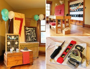 Tool Themed Birthday Party with So Many Great Ideas via Kara's Party Ideas | KarasPart yIdeas.com #ToolManParty #BuildingParty #Party #Ideas #Supplies (1)