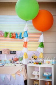 Colorful Tutti Fruitty Party with Lots of REALLY CUTE IDEAS via Kara's Party Ideas | KarasPartyIdeas.com #TuittiFruittyParty #TweenParty #PartyIdeas #Supplies (6)