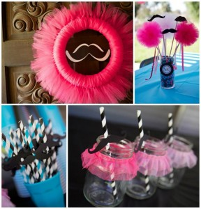 Tutu and Stache Bash with Really Cute Ideas via Kara's Party Ideas | KarasPartyIdeas.com #StacheBash #MustacheParty #BalletParty #TutuParty #PartyIdeas #Supplies (1)