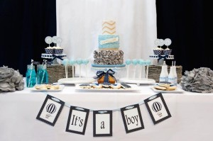 Elephants + Hot Air Balloon Baby Shower Full of Cute Ideas via Kara's Party Ideas | KarasPartyIdeas.com #UpUpAndAway #ElephantParty #HotAirBalloonParty #PartyIdeas #Supplies (30)