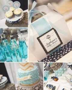 Elephants + Hot Air Balloon Baby Shower Full of Cute Ideas via Kara's Party Ideas | KarasPartyIdeas.com #UpUpAndAway #ElephantParty #HotAirBalloonParty #PartyIdeas #Supplies (1)