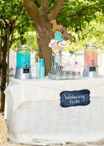 Vintage Cowboy and Cowgirl Party with Lots of REALLY CUTE IDEAS via Kara's Party Ideas KarasPartyIdeas.com #WesternParty #CowboyParty #CowgirlParty #PartyIdeas #Supplies (2)