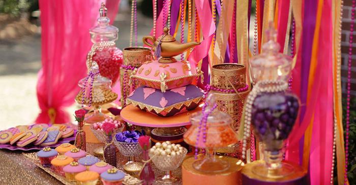 Karas Party Ideas Arabian Belly Dancer Planning Supplies Idea Cake Decor