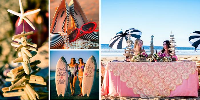 Kara S Party Ideas Holiday Beach Bingo Bridal Shower
