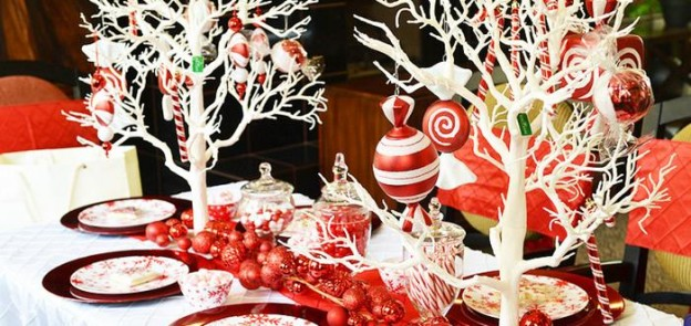 Candy Cane Winter Wonderland Party with So Many Cute Ideas via Kara's Party Ideas | KarasPartyIdeas.com #CandyCaneParty #WinterWonderlandParty #RedChristmasParty #PartyIdeas #Supplies (3)