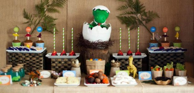 Dinosaur Party Full of Really Cute Ideas via Kara's Party Ideas KarasPartyIdeas.com #DinosaurCake #DinosaurDesserts #PartyIdeas #Supplies (1)