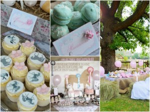 Vintage Pony Soiree with So Many Cute Ideas via Kara's Party Ideas KarasPartyIdeas.com #PonyParty #WesternParty #CowgirlParty #PonyCake #PartyIdeas #PartySupplies