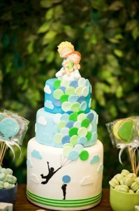 Green and Blue Balloon Themed Birthday Party with Lots of Really Cute Ideas via Kara's Party Ideas KarasPartyIdeas.com (30)