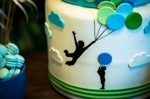 Green and Blue Balloon Themed Birthday Party with Lots of Really Cute Ideas via Kara's Party Ideas KarasPartyIdeas.com (10)
