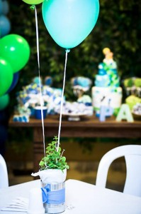 Green and Blue Balloon Themed Birthday Party with Lots of Really Cute Ideas via Kara's Party Ideas KarasPartyIdeas.com (9)