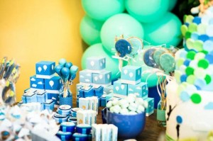 Green and Blue Balloon Themed Birthday Party with Lots of Really Cute Ideas via Kara's Party Ideas KarasPartyIdeas.com (4)