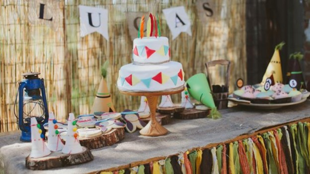 Pow Wow Party with Such Cute Ideas via Kara's Party Ideas | KarasPartyIdeas.com #IndianParty #NativeAmericanParty #PowWowCake #PartyIdeas #Supplies (1)