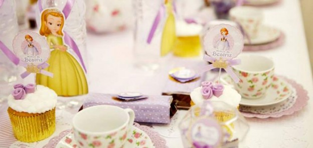 Sofia the First Princess Tea Party with Lots of Cute Ideas via Kara's Party Ideas | KarasPartyIdeas.com #PrincessParty #TeaParty #PartyIdeas #Supplies (1)