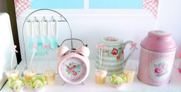 Vintage Kitchen Party Full of Really Cute Ideas via Kara's Party Ideas KarasPartyIdeas.com #VintageKitchen #KitchenParty #TeaParty #PartyIdeas #Supplies (2)