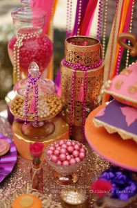Arabian Belly Dancer Party with Lots of Really Cute Ideas via Kara's Party Ideas | KarasPartyIdeas.com #BellyDancerParty #ArabianPrincessParty #PartyIdeas #Supplies (16)