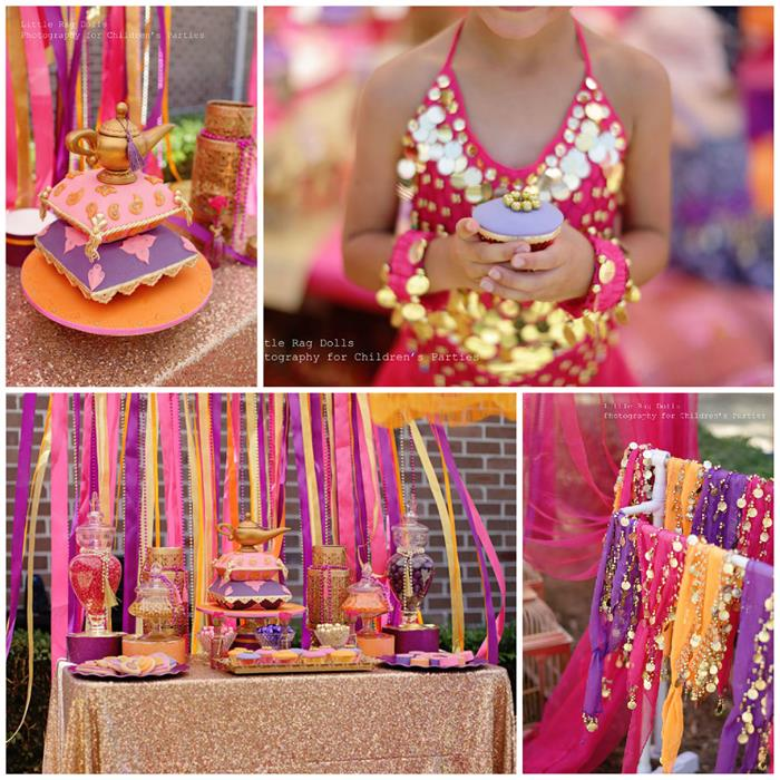 Kara 39 s party ideas arabian belly dancer party with such for Arabian decoration materials trading