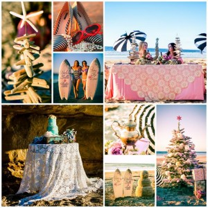 Holiday Beach Bingo Bridal Shower with Such Cute Ideas via Kara's Party Ideas KarasPartyIdeas.com #ChristmasBeachParty #ChristmasBridalShower #BeachBridalShower #PartyIdeas #Supplies (1)