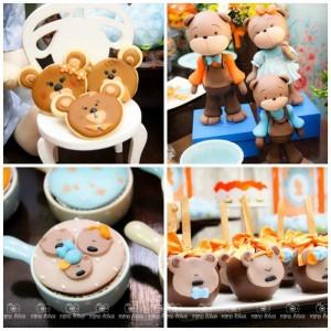 Goldilocks and the Three Bears Themed Party with So Many Cute Ideas via Kara's Party Ideas | KarasPartyIdeas.com #GoldilocksParty #TheThreeBears #Party #Ideas #Supplies (1)