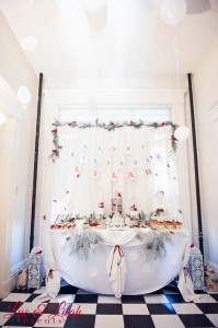 Birch Trees and Birdies Winter Wonderland Party with Such Cute Ideas via Kara's Party Ideas KarasPartyIdeas.com #HolidayParty #WinterParty #ChristmasParty #ChristmasBirthdayParty #PartyIdeas #Supplies (49)