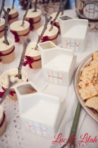 Birch Trees and Birdies Winter Wonderland Party with Such Cute Ideas via Kara's Party Ideas KarasPartyIdeas.com #HolidayParty #WinterParty #ChristmasParty #ChristmasBirthdayParty #PartyIdeas #Supplies (8)