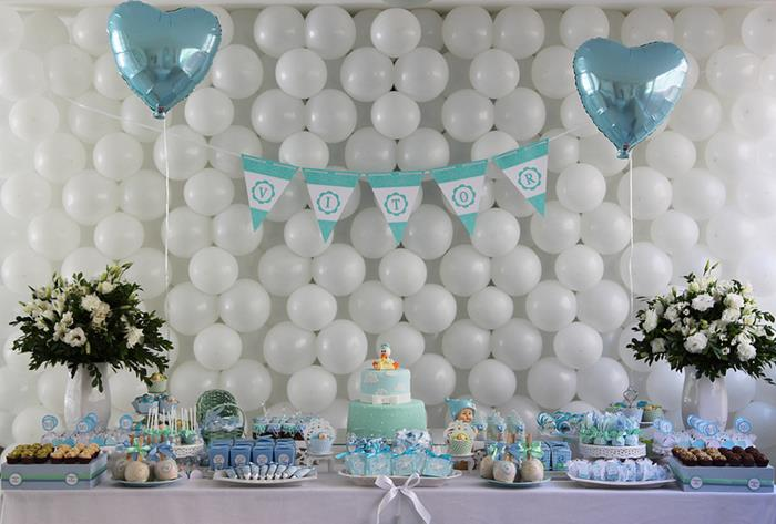 Great Little Boy Baby Shower With So Many Cute Ideas Via Karau0027s Party Ideas |  KarasPartyIdeas.