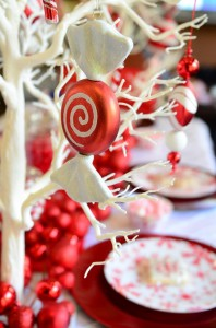 Candy Cane Winter Wonderland Party with So Many Cute Ideas via Kara's Party Ideas | KarasPartyIdeas.com #CandyCaneParty #WinterWonderlandParty #RedChristmasParty #PartyIdeas #Supplies (19)