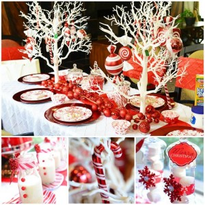 Candy Cane Winter Wonderland Party with So Many Cute Ideas via Kara's Party Ideas | KarasPartyIdeas.com #CandyCaneParty #WinterWonderlandParty #RedChristmasParty #PartyIdeas #Supplies (2)