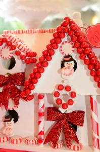 Candy Cane Winter Wonderland Party with So Many Cute Ideas via Kara's Party Ideas | KarasPartyIdeas.com #CandyCaneParty #WinterWonderlandParty #RedChristmasParty #PartyIdeas #Supplies (11)