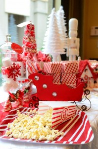 Candy Cane Winter Wonderland Party with So Many Cute Ideas via Kara's Party Ideas | KarasPartyIdeas.com #CandyCaneParty #WinterWonderlandParty #RedChristmasParty #PartyIdeas #Supplies (10)