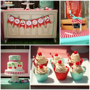 Cherry on Top Party with Such Cute Ideas via Kara's Party Ideas | KarasPartyIdeas.com #BerryBash #CherryParty #PartyIdeas #Supplies (1)