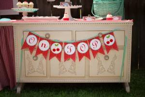 Cherry on Top Party with Such Cute Ideas via Kara's Party Ideas | KarasPartyIdeas.com #BerryBash #CherryParty #PartyIdeas #Supplies (13)