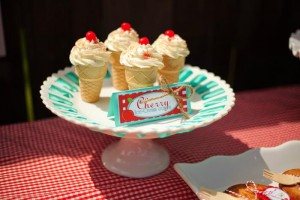 Cherry on Top Party with Such Cute Ideas via Kara's Party Ideas | KarasPartyIdeas.com #BerryBash #CherryParty #PartyIdeas #Supplies (6)