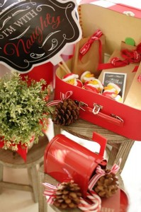 Red and White Christmas Party with Lots of Really Cute Ideas via Kara's Party Ideas | KarasPartyIdeas.com #ChristmasParty #HolidayParty #Party #Ideas #Supplies (5)