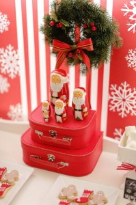 Red and White Christmas Party with Lots of Really Cute Ideas via Kara's Party Ideas | KarasPartyIdeas.com #ChristmasParty #HolidayParty #Party #Ideas #Supplies (2)