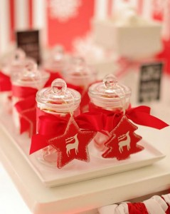 Red and White Christmas Party with Lots of Really Cute Ideas via Kara's Party Ideas | KarasPartyIdeas.com #ChristmasParty #HolidayParty #Party #Ideas #Supplies (8)