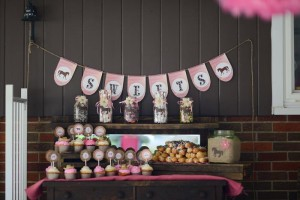 Rustic Cowgirl Party with Such Darling Ideas via Kara's Party Ideas KarasPartyIdeas.com #CowgirlParty #VintageParty #WesternParty #PartyIdeas #Supplies (11)