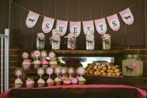 Rustic Cowgirl Party with Such Darling Ideas via Kara's Party Ideas KarasPartyIdeas.com #CowgirlParty #VintageParty #WesternParty #PartyIdeas #Supplies (5)