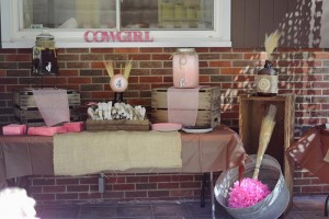 Rustic Cowgirl Party with Such Darling Ideas via Kara's Party Ideas KarasPartyIdeas.com #CowgirlParty #VintageParty #WesternParty #PartyIdeas #Supplies (2)