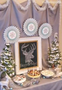 Oh Deer! She's 13! Themed Birthday Party with Such Cute Ideas via Kara's Party Ideas KarasPartyIdeas.com #ReindeerParty #ChristmasParty #ReindeerThemedDesserts #DeerParty #PartyIdeas #Supplies (4)
