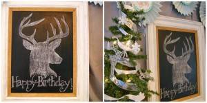 Oh Deer! She's 13! Themed Birthday Party with Such Cute Ideas via Kara's Party Ideas KarasPartyIdeas.com #ReindeerParty #ChristmasParty #ReindeerThemedDesserts #DeerParty #PartyIdeas #Supplies (17)